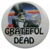 Grateful Dead - 'Mr Saturday Night' Button Badge